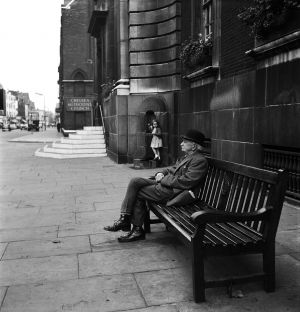 The Old and the Young, London, England. 1955