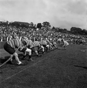 Highland Games, Scotland. 1958
