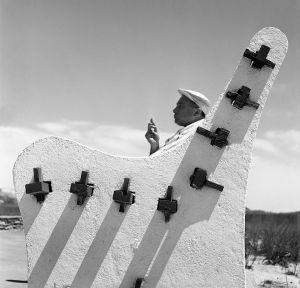 The White Bench, Coney Island, NY. 1959