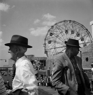Ferris Wheel, Coney Island, NY. 1959