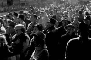 Watching the Parade, New York City, NY. 1959