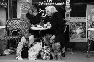 Paris Café, Paris, France. 1992