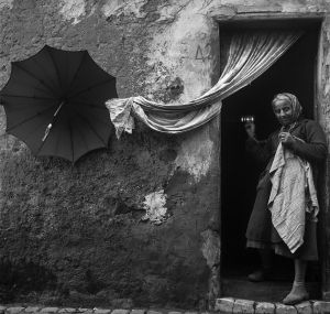 Emerging, Italy. 1961