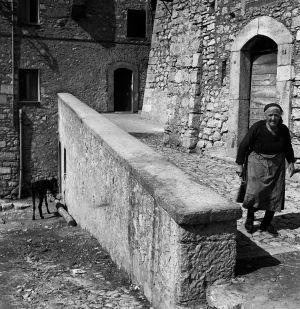 Village Residents, Vallecorsa, Italy. 1963