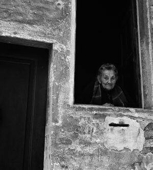 A Window on the World, Vallecorsa, Italy. 1961