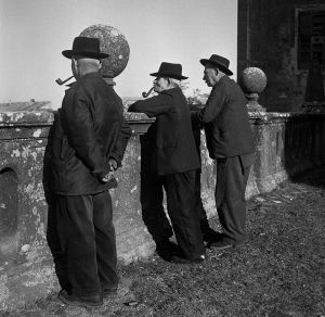 Pensioners, Italy. 1958